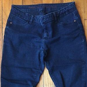 Minimal Stretch skimmer jeans